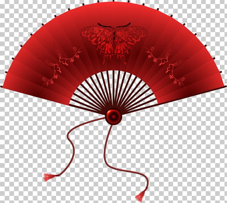 Hand paper decorative arts. Fan clipart decoration chinese