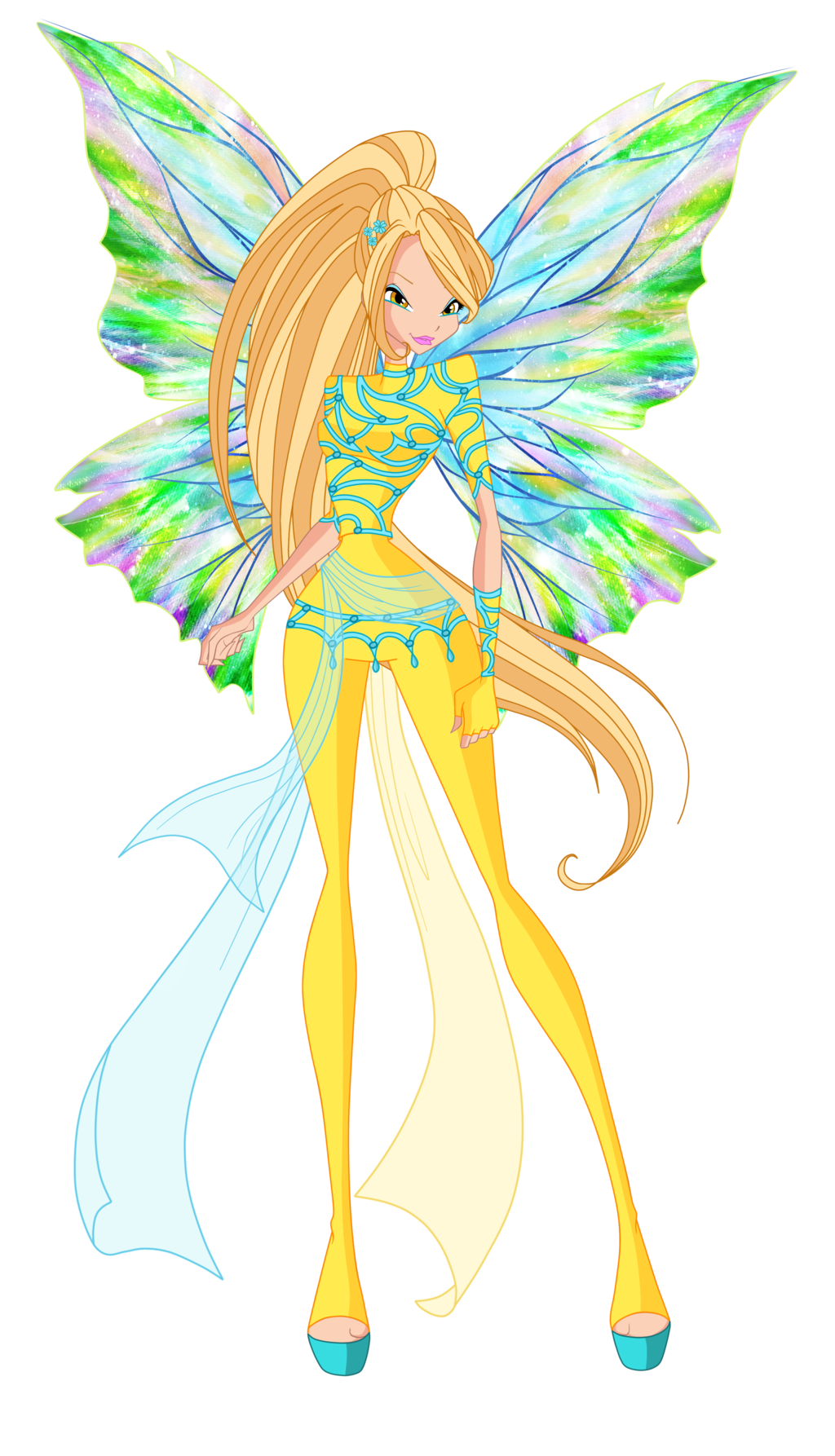 Winx club daphne dreamix. Maid clipart fairy