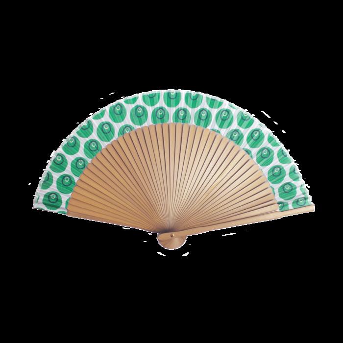 Fan folding fan