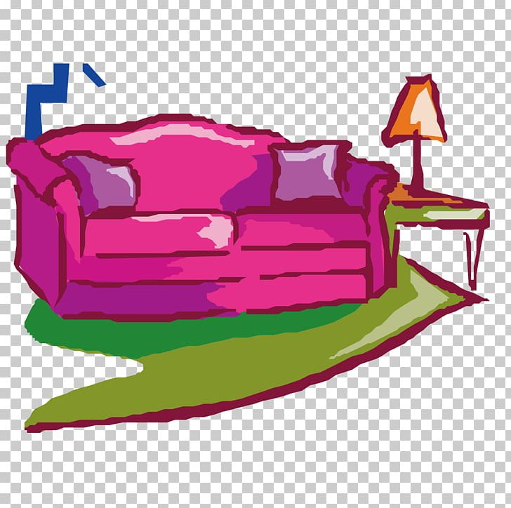 Couch png decoration decorative. Furniture clipart fan