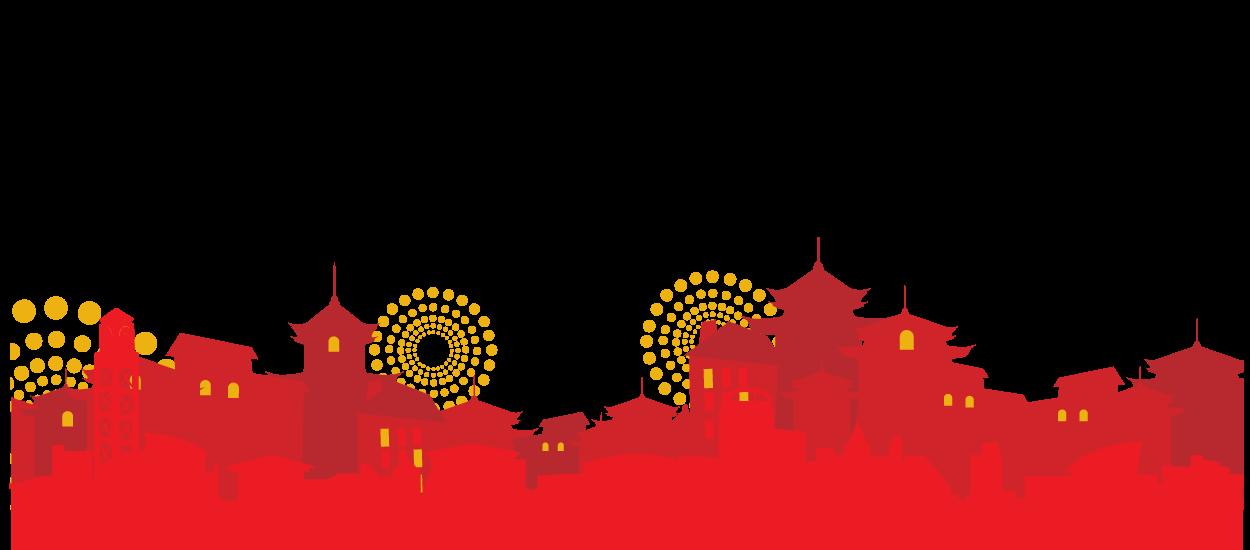Festival elegant floating csp. Japanese clipart red lantern