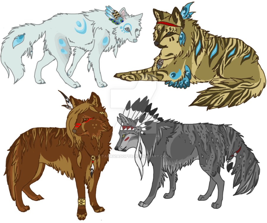 Wolves clipart native american wolf. Drawing at getdrawings com