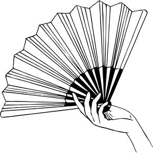 Cliparts of free download. Fan clipart paper fan