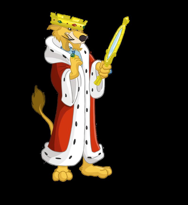 King clipart england king. Disney robin hood prince