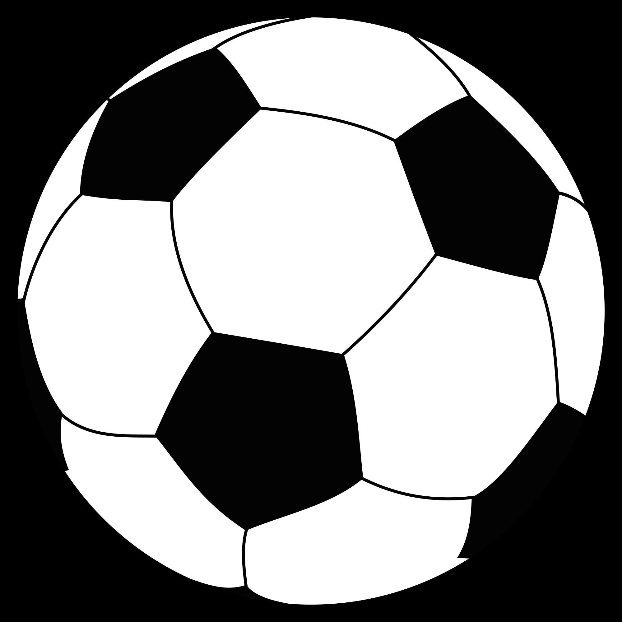 File soccerball svg wikimedia. Foot clipart soccer