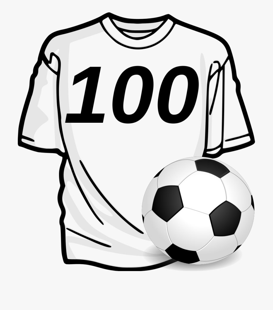 T shirt clip art. Jersey clipart football fan
