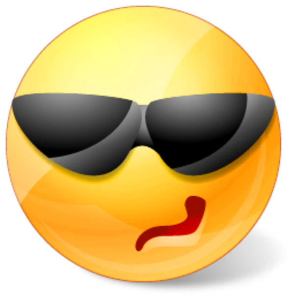 Icons land cool smiley. Fan clipart sport fanatic