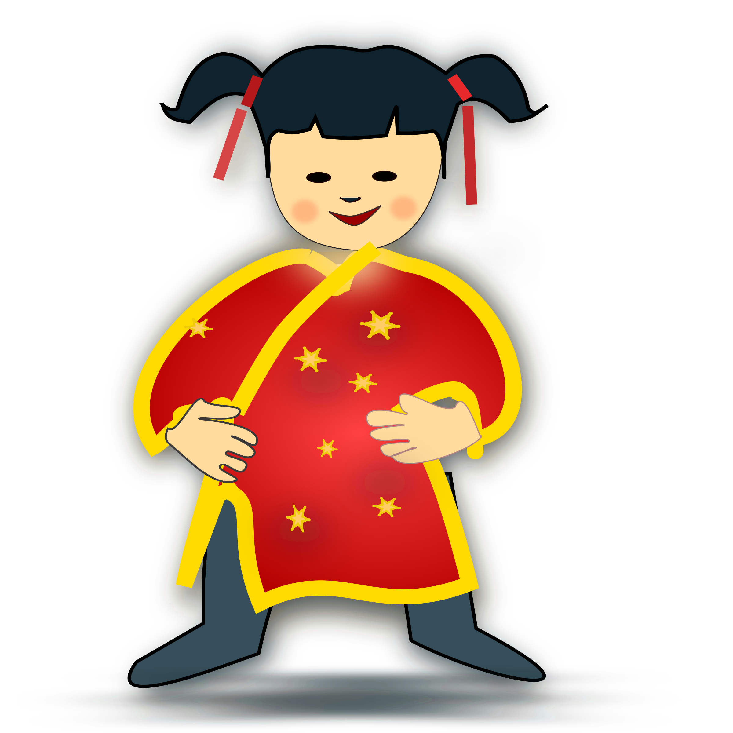 collection of chinese. Whisper clipart last person
