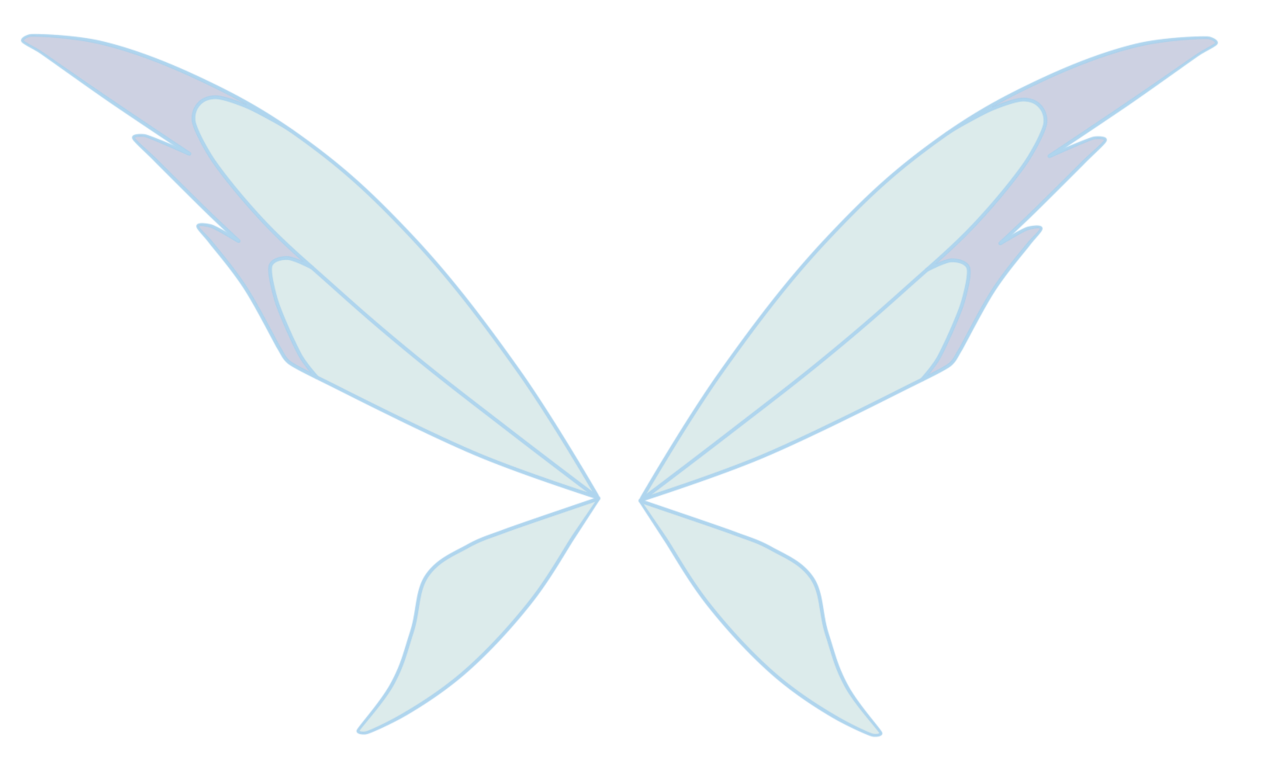 Fairy wings transparent png. Wing clipart pixie