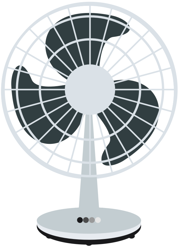 Desk speed designed medium. Fan clipart