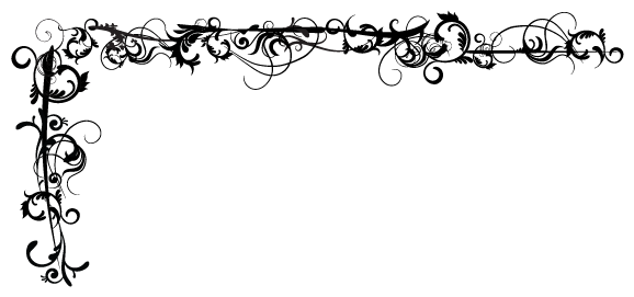 Decorative transparent images all. Fantasy border png