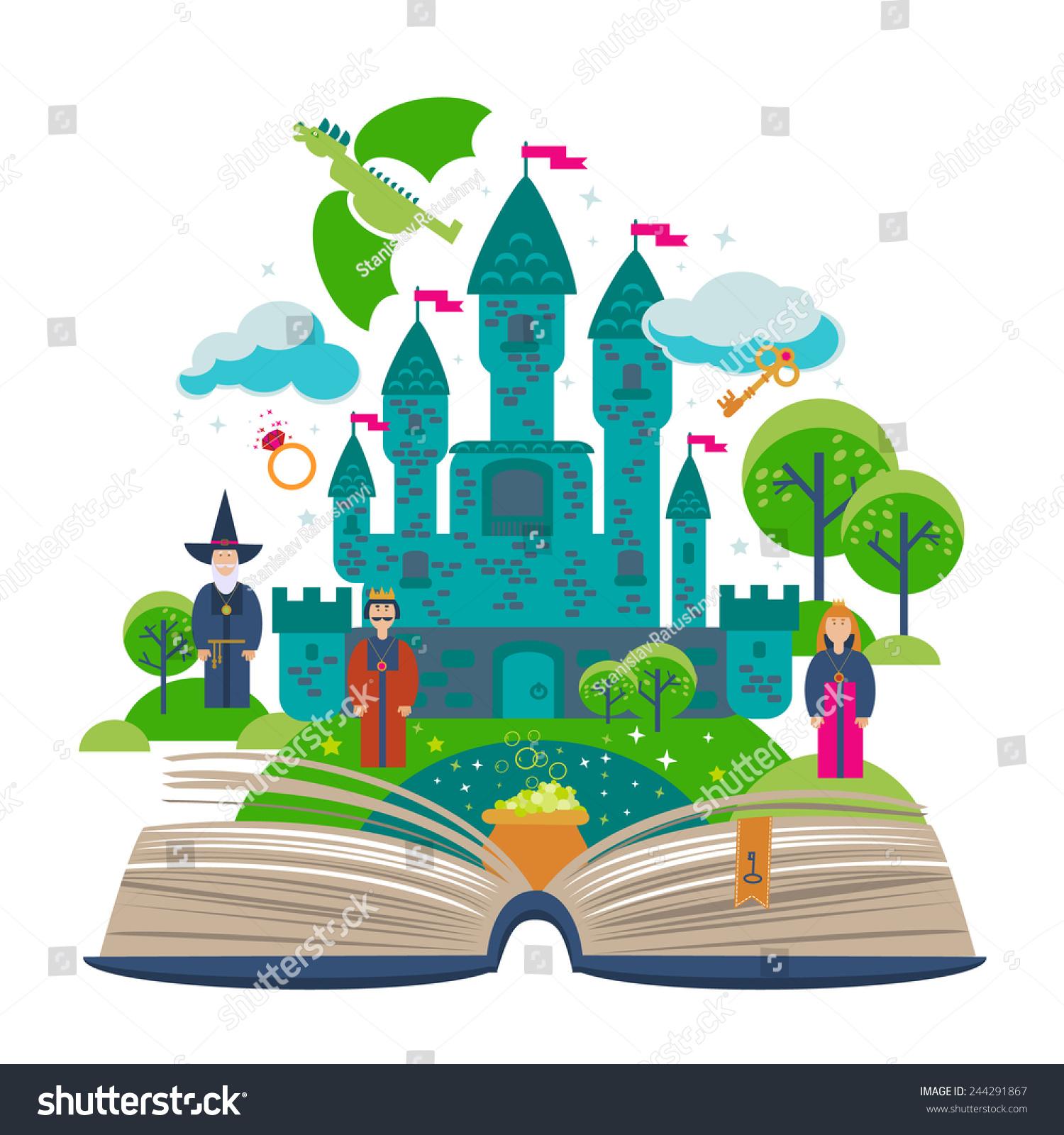 Fantasy clipart book. Portal