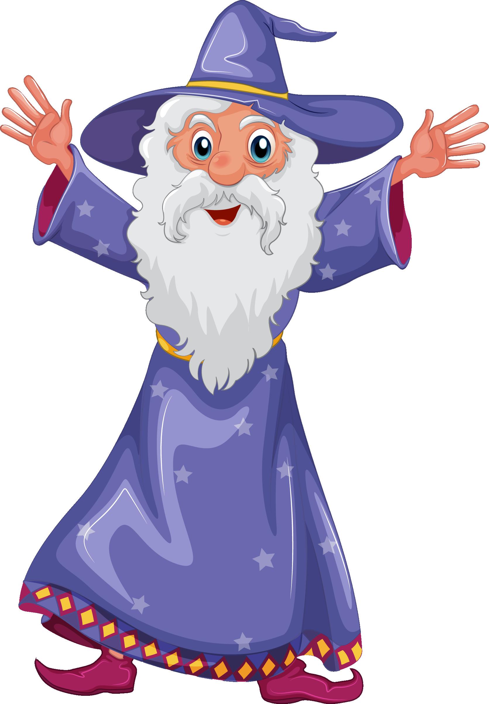 Purple clipart wizard. Png transparent free images