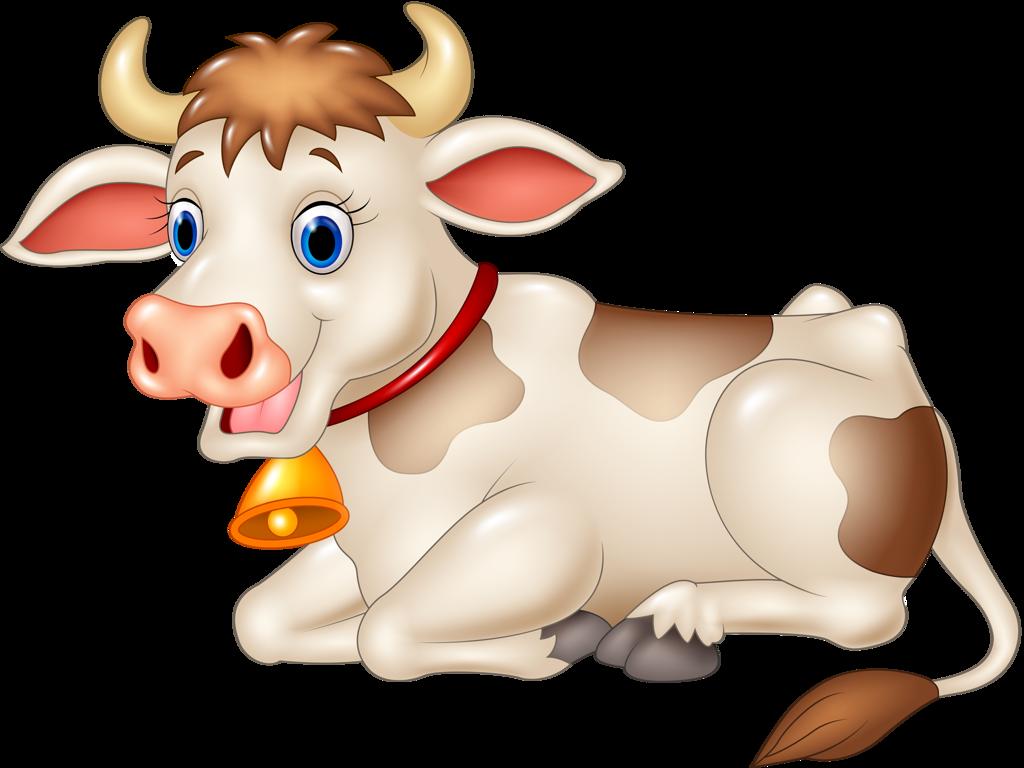 Farm clipart dairy farm. Funny cartoon animals vector