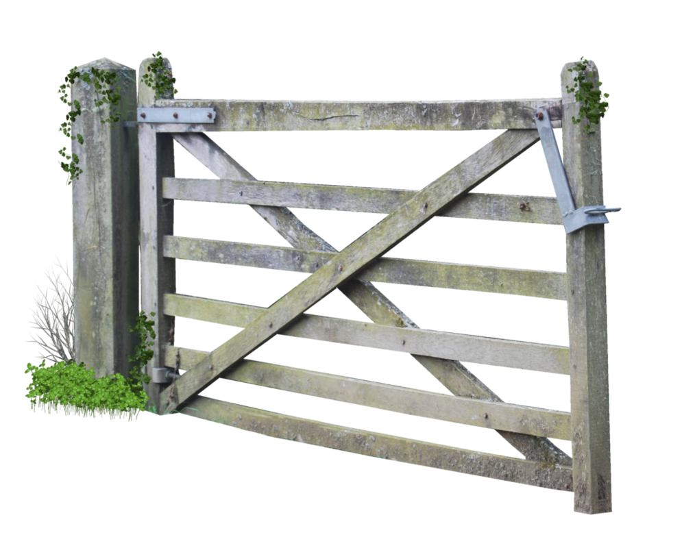 Fencing clipart house gate. Wooden farm png by
