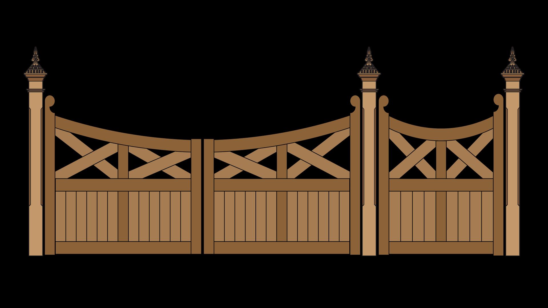 farm clipart gates