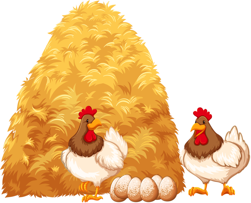 png insects bird. Farm clipart hay