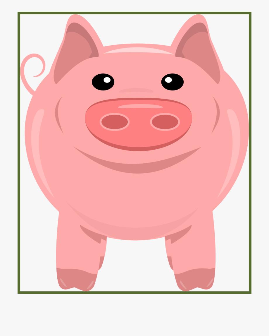 Farming mixed farm animal. Hog clipart transparent background