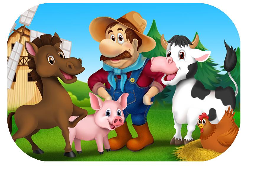Read along for kids. Farm clipart old macdonald had a farm