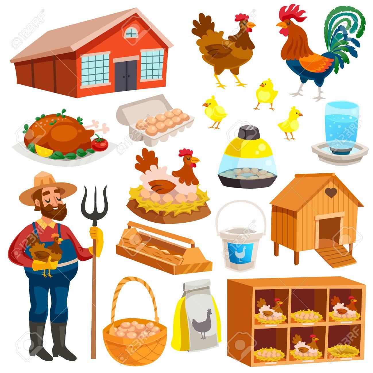 . Farming clipart poultry farm