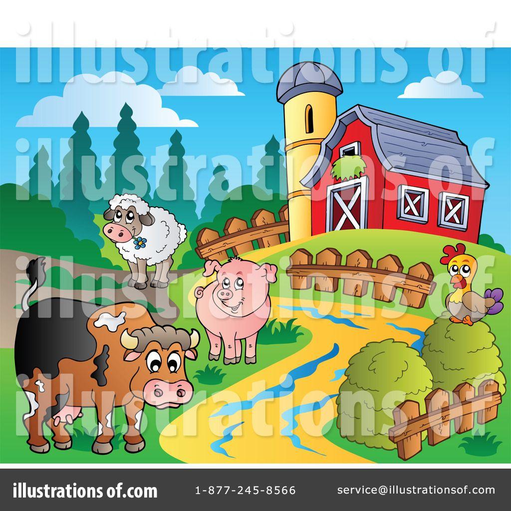 Farm clipart preschool. Animals