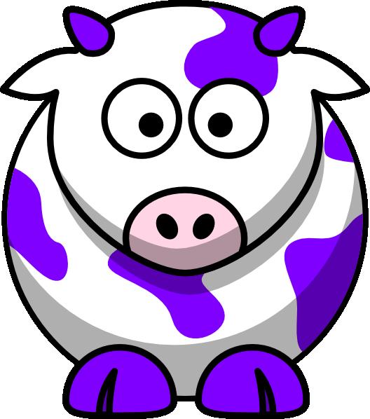 Farm clipart preschool. Purple cow clip art