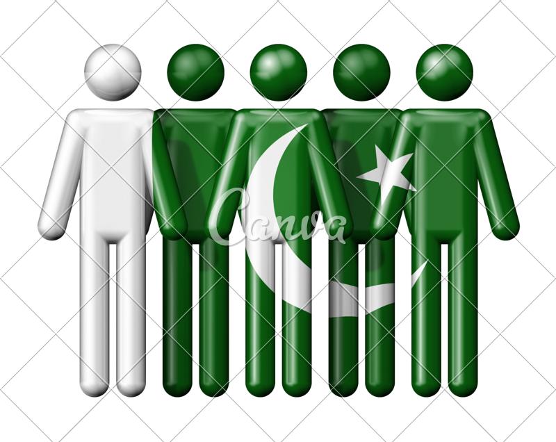 Farm clipart stick figure. Flag of pakistan on