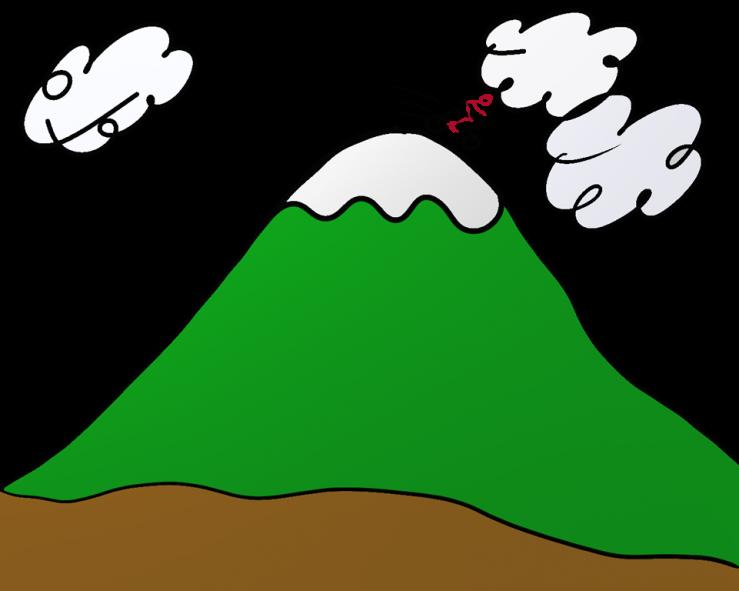 Hill big frames illustrations. Hills clipart distant