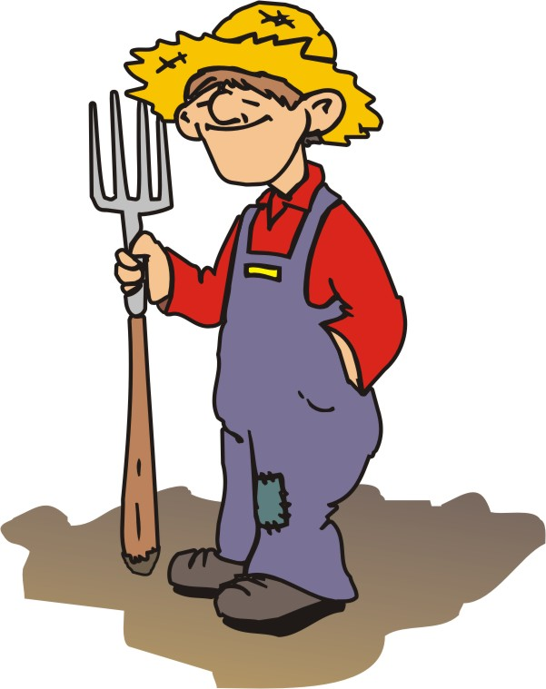 Cartoon drawing at getdrawings. Farmer clipart