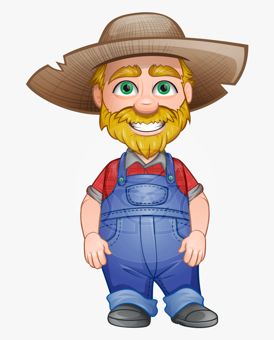 Farm clipart man. Download farmers person and