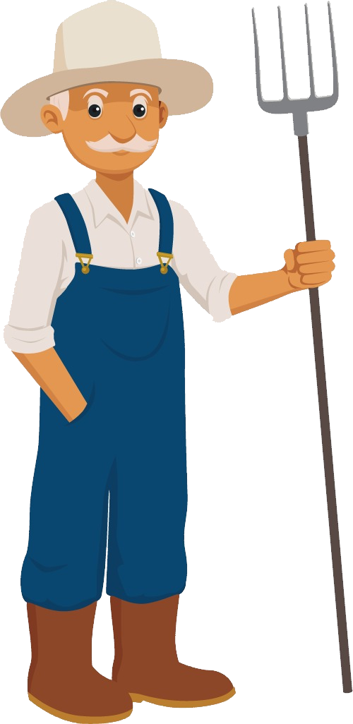 Farmer png images free. Female clipart janitor