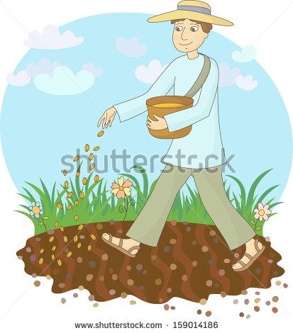 Station . Farmer clipart farmer planting
