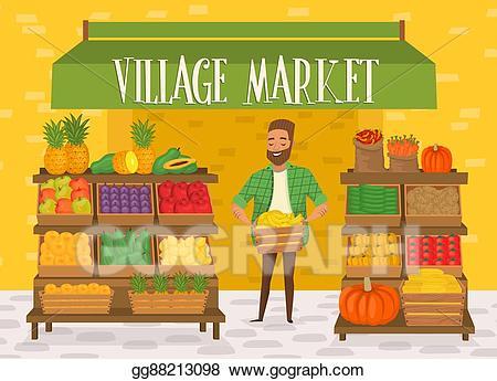 farmer clipart farmers market