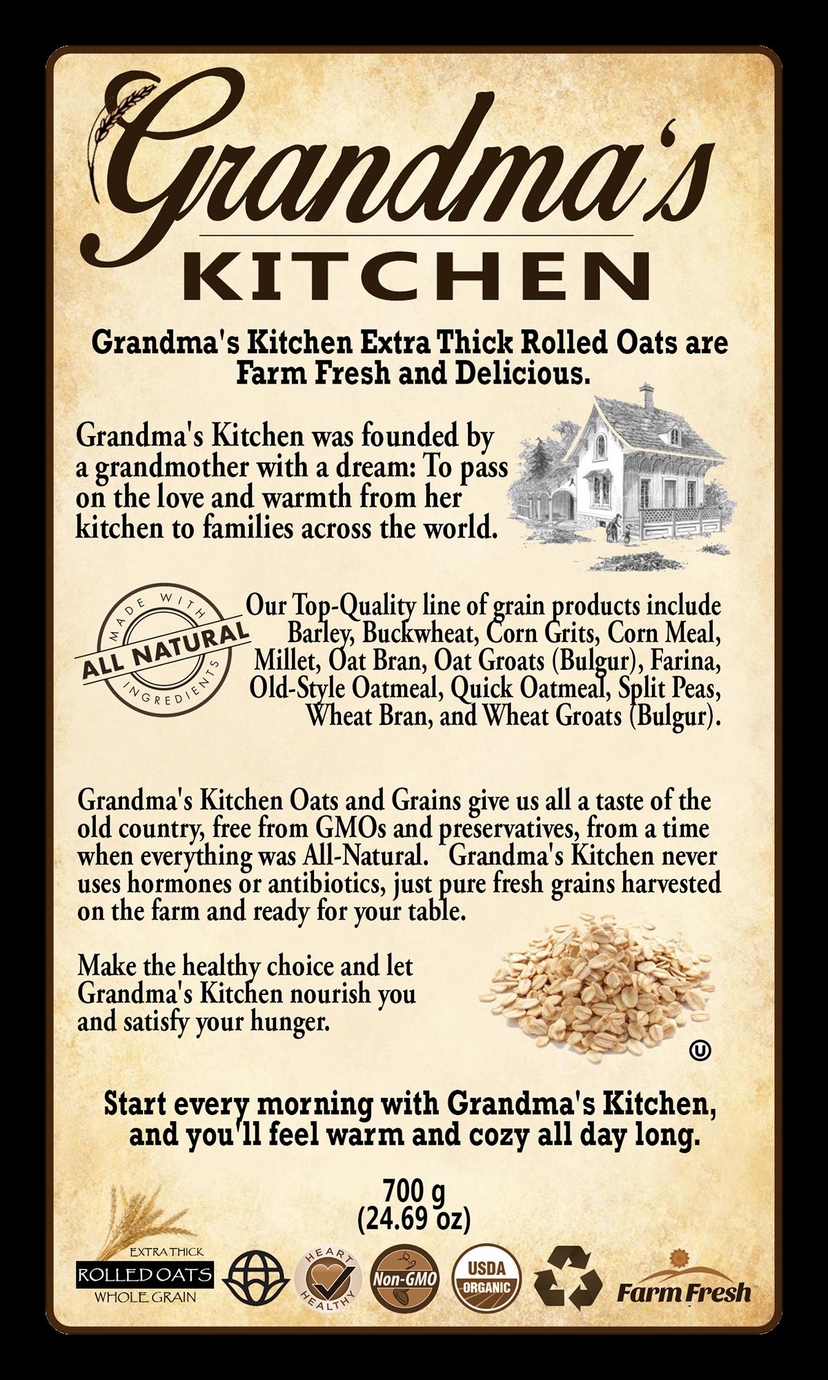 S kitchen product labels. Farmer clipart grandma
