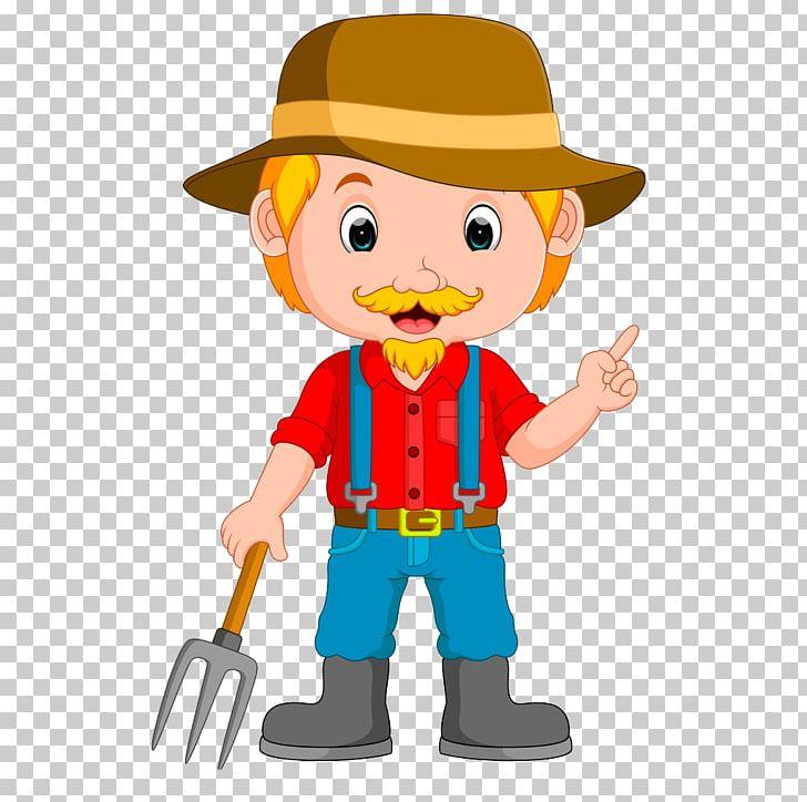 Cartoon illustration png agriculture. Farmer clipart male farmer