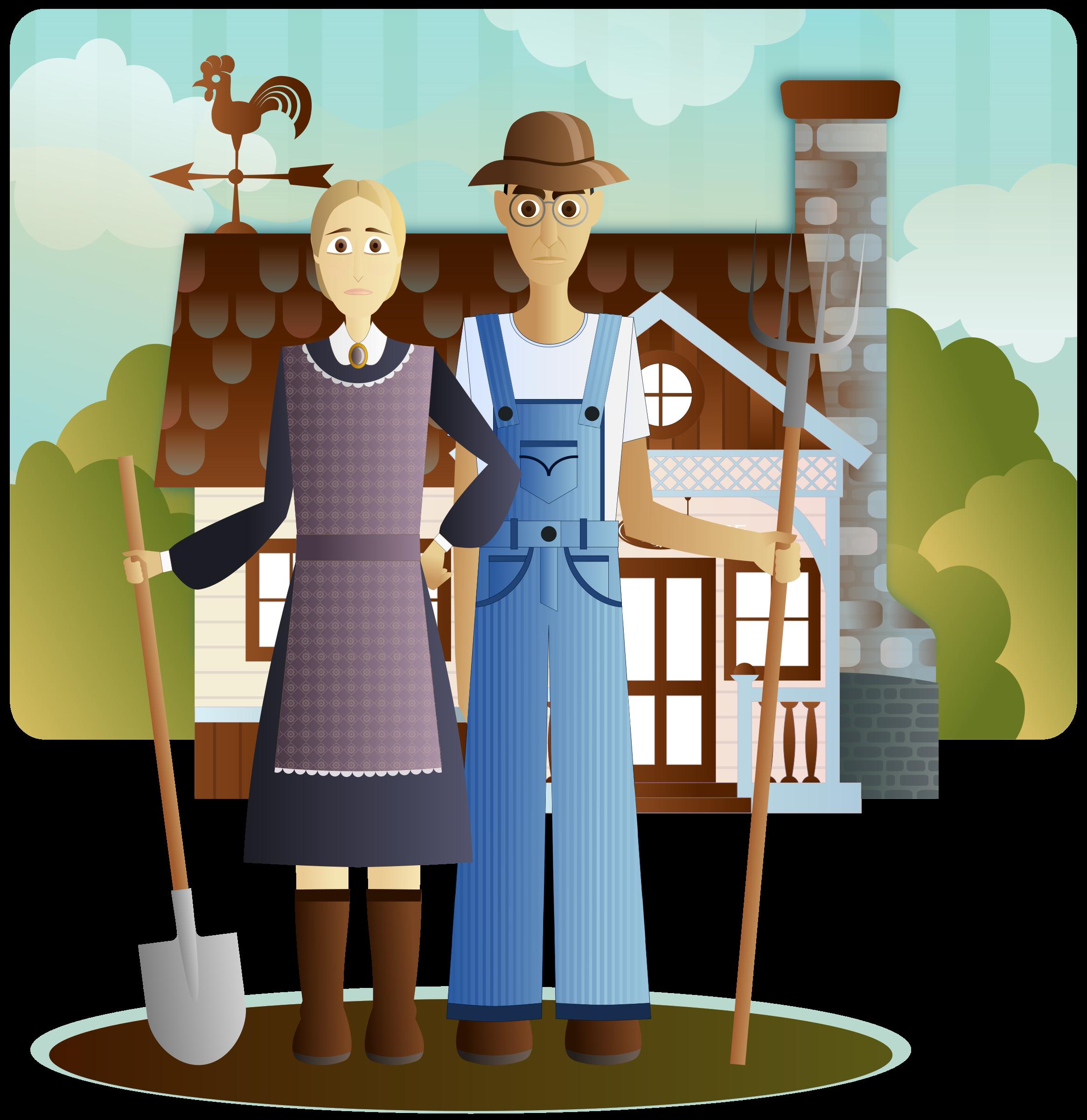 Farmers gothic icons png. Farming clipart clip art