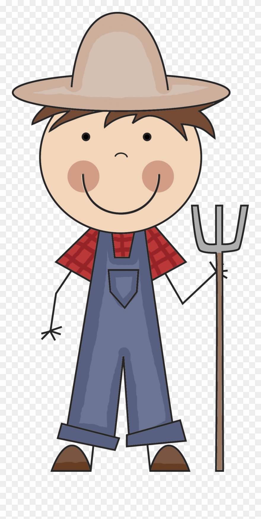 Farmer clipart producer. People cartoon farmers png