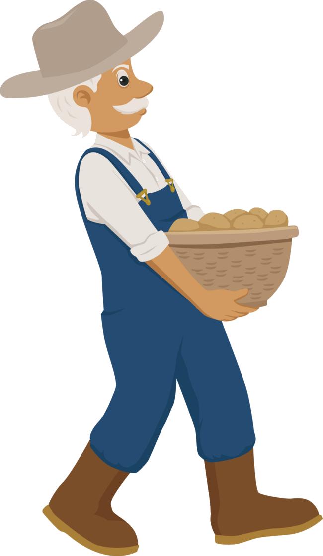 Farmer clipart producer. Png