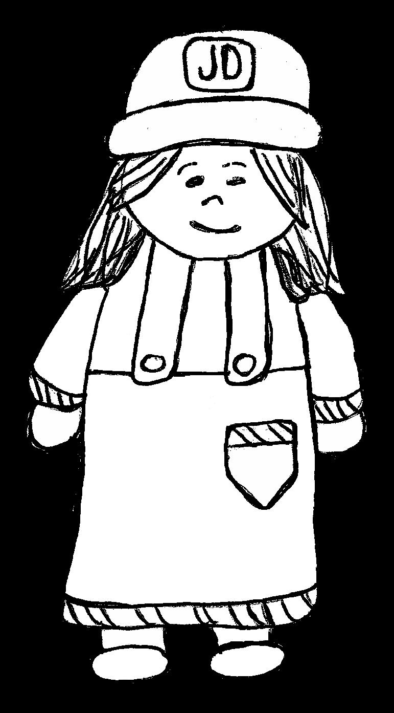 Clip art by carrie. Farmers clipart female farmer