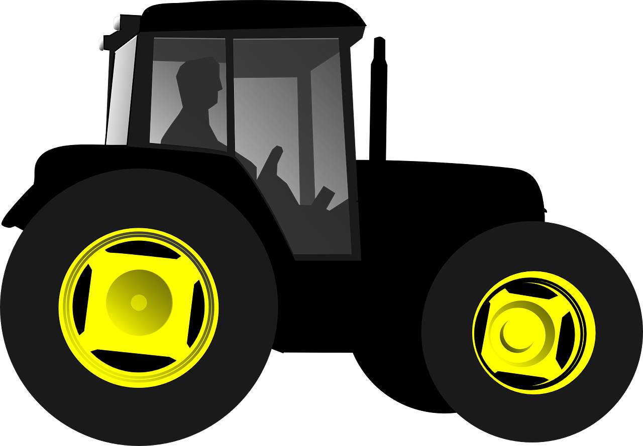 John deere silhouette at. Purple clipart tractor