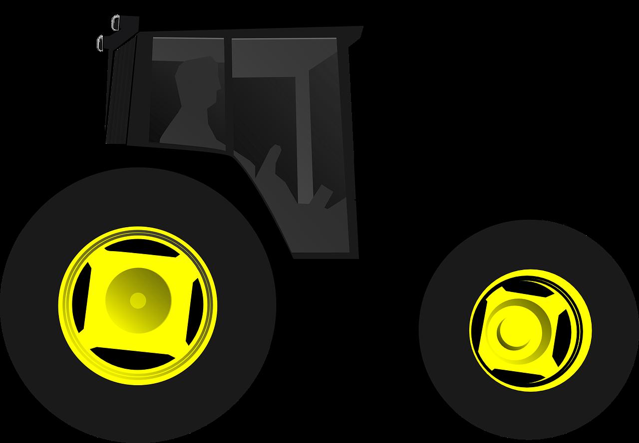 Farmer clipart tractor. John deere silhouette at