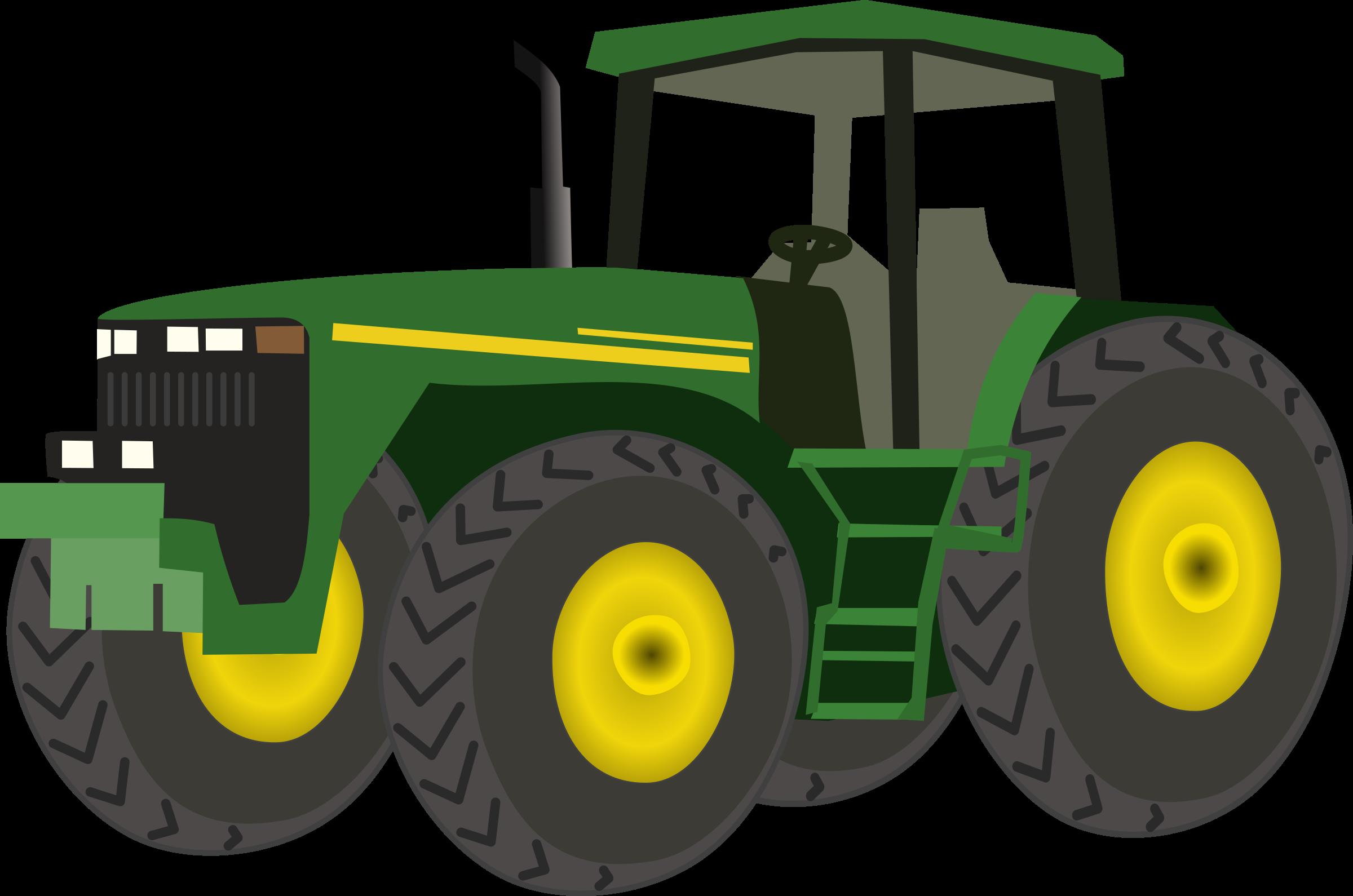Farmer clipart tractor.