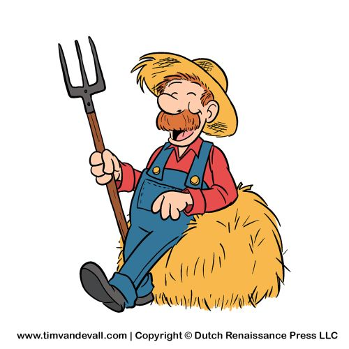 Panda free images info. Farmer clipart