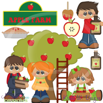 Farm svg cutting files. Farmers clipart apple farmer