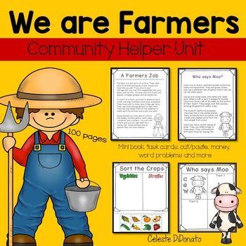 Tpt language arts lessons. Farmers clipart community helper