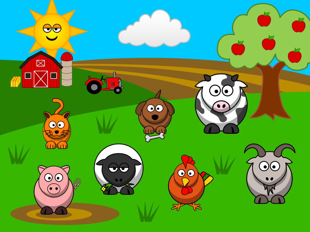 Free cliparts download clip. Farmers clipart farm animal scene