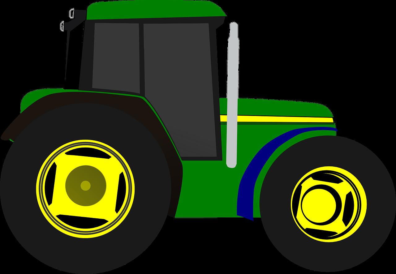 Farming clipart farm equipment. Tractor vehicle transparent image