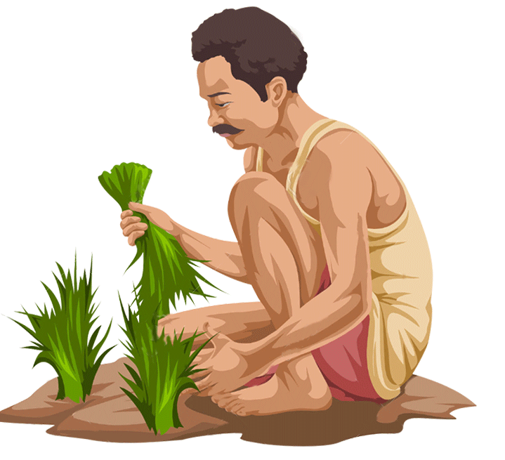 Direct farm fresh vegetables. Farmers clipart farmer indian