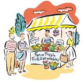 Day clip art find. Farmers clipart farmers market