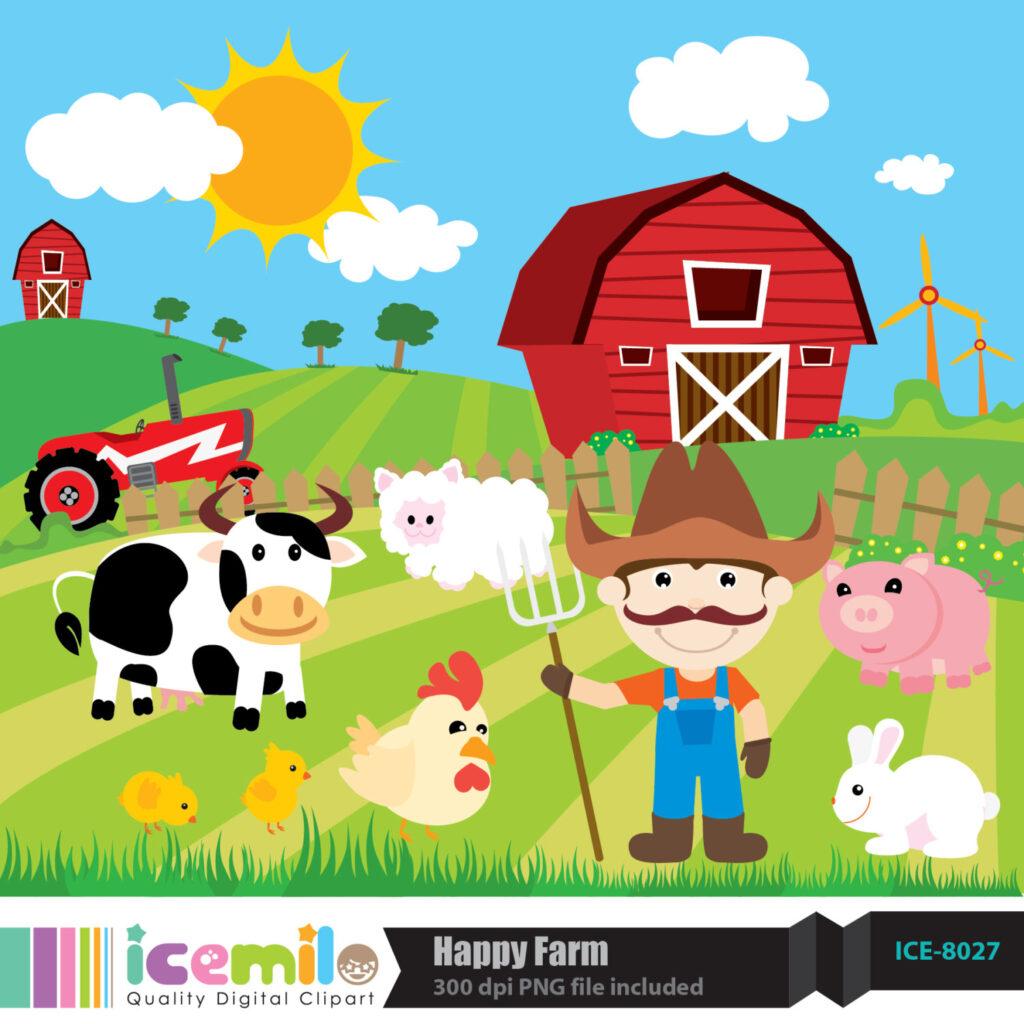 Farming clipart clip art. Farm insecta